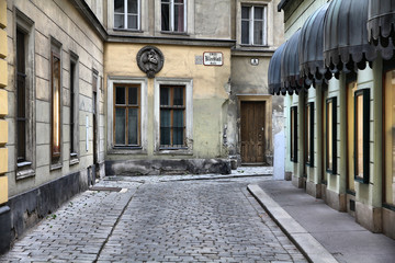 Aluminium Prints Vienna Vienna Old Town