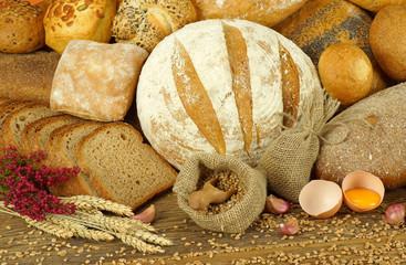 Fototapeta Wiejski chleb obraz