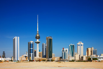 Kuwait City has embraced contemporary architecture