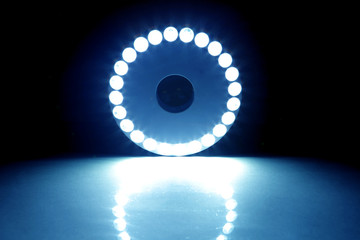 Blue Light Circle