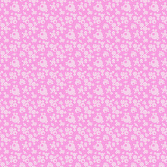 White and Pink seamless abstract geometric pattern, textured bac