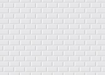Obraz Carrelage blanc metro - fototapety do salonu