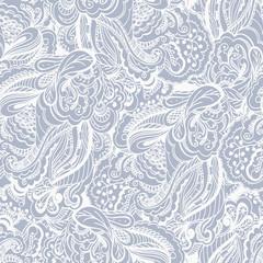 Paisley design. Seamless pattern background