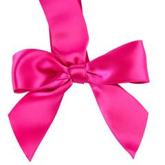 Pink Satin Bow