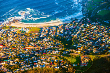 Camps Bay aerial