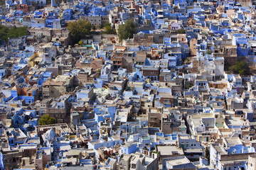 "Jodhpur the ""Blue City"" in Rajasthan, India."