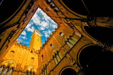 Siena, Palazzo Pubblico dall'interno