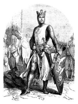 King : Richard Lionheart - Coeur-de-Lion - 12th century