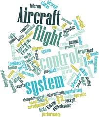 Word cloud for Aircraft flight control system