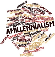 Word cloud for Amillennialism