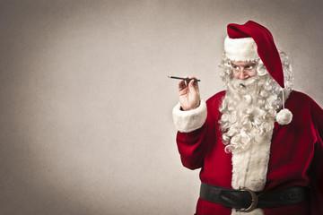 Writing Santa Claus