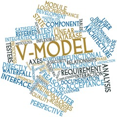 Word cloud for V-Model