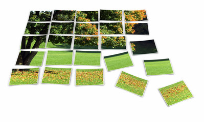 Sonniger Herbst - Fotopuzzle