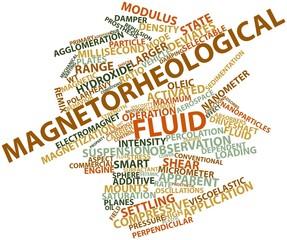 Word cloud for Magnetorheological fluid