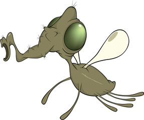Green fly cartoon