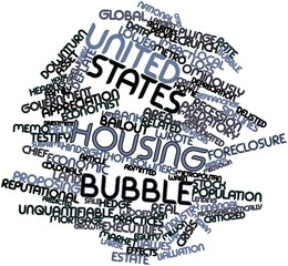 Word cloud for United States housing bubble