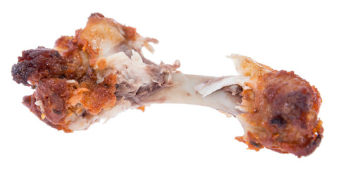 Chicken Wing on white background