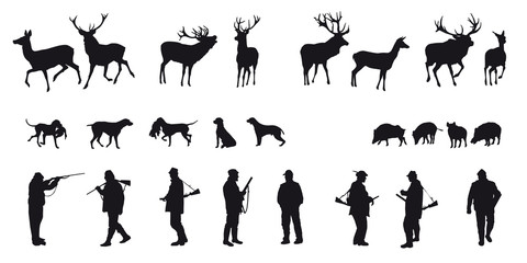 Motive hunting of animals and landscapes