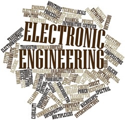 Word cloud for Electronic engineering