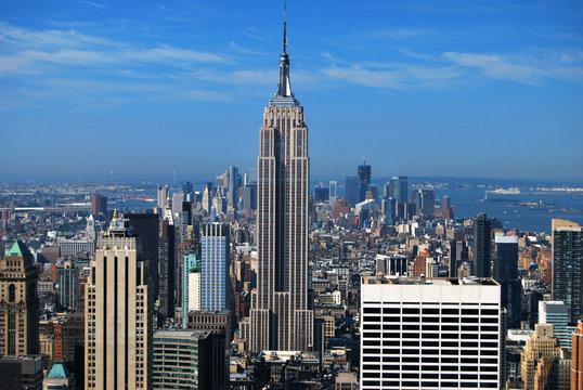 Empire State Building et Manhattan New York USA