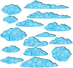 ornamented clouds