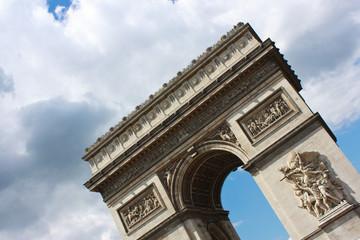 Slanted Arc de Triomphe