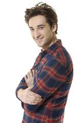 Portrait of young casual man portrait