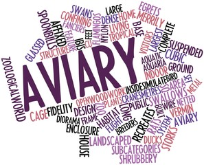 Word cloud for Aviary