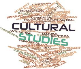 Word cloud for Cultural studies
