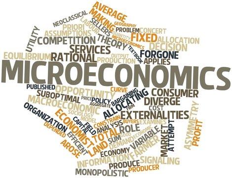 Word cloud for Microeconomics