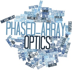 Word cloud for Phased-array optics