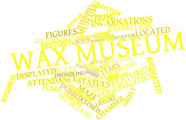 Word cloud for Wax museum