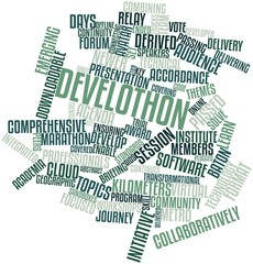 Word cloud for Develothon