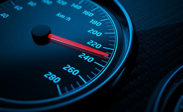 Compteur de vitesse 2