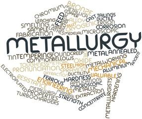 Word cloud for Metallurgy