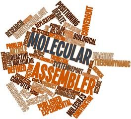 Word cloud for Molecular assembler