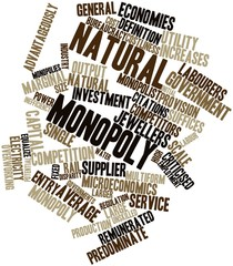 Word cloud for Natural monopoly