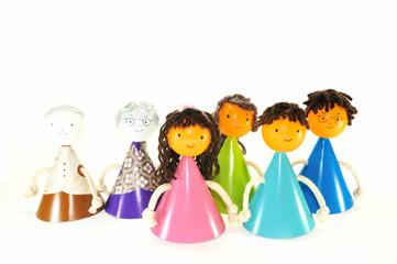 家族の人形