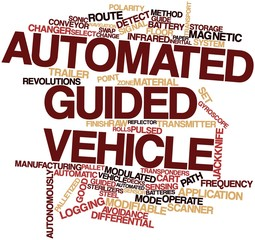 Word cloud for Automated guided vehicle