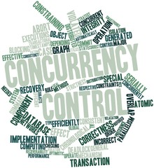 Word cloud for Concurrency control
