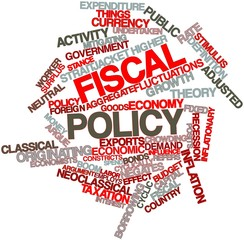 Word cloud for Fiscal policy