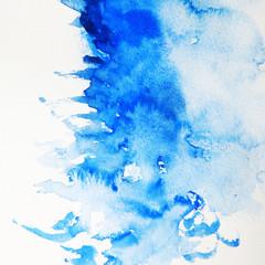 Stores photo Cristaux Zeichnung mit Wasserfarben