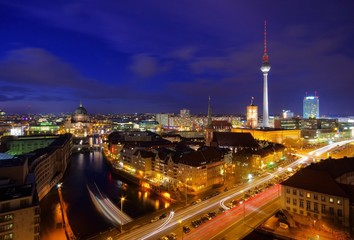 Berlin bei Nacht - Berlin by night 01