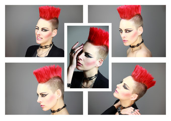 collage punk