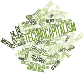 Word cloud for Technocapitalism