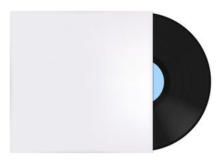 Pochette et disque vinyle