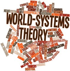 Word cloud for World-systems theory