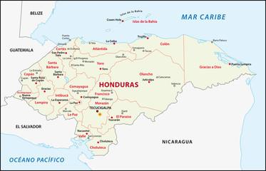 Honduras Administrativ