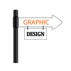 sign graphic design vector illustration