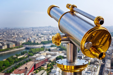 Eiffel Tower telescope